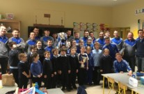 Delighted to have a visit from Knocknagree GAA  Munster Football Champions 2017
