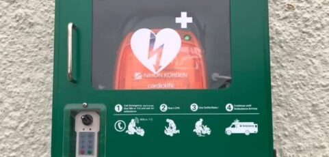 *Community Announcement' a defibrillator is installed in Hollymount NS!!